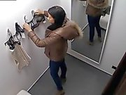 Voyeur Spycam Wunderschöne Teens Brunette Einbau Unterwäsche