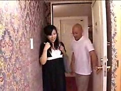 Alluring Japanese wife with a wonderful ass is addicted to