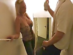 drunk german amateur get fuck by doorkeeper