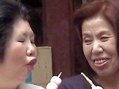 Sachi Michiko - Lezbiyen Asyalı Büyükler
