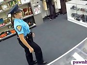 Ms police officer fucked by pawnkeeper inside the pawnshop
