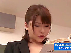 Fucking the bitch teacher,threatening oriental japanese jav