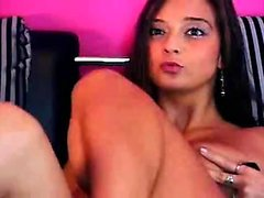 Bigboob brunette plays toys and orgasm live sex webcam