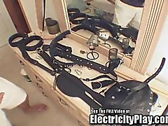 Gimp Bitch Electrified and BDSM Fucked