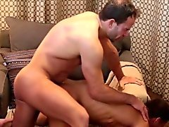 Muscle mormon gets off