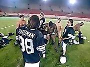 Cheerleader Gang Banged By An Entire Football Team