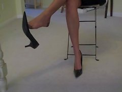 Law Student Pantyhose Feet