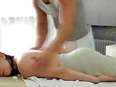 Big titty Russian doll gets a voluptuous massage