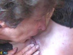 Reife Frauen haben eine Sexparty