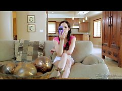 Jenna J Ross Slim Teen In Kitchen