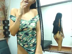 Pretty Hot Ados Camslut Jouer sur Webcam