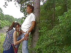 Japanese blowing in the wood