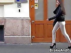 Broke hohen Amateur gerne den Hahn