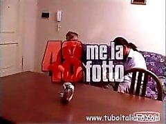 Italian Jugendlich und Älteres 3some