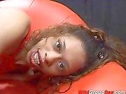 skinny black teen in anal gangbang