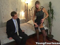 young courtesans - dressed up for a client film