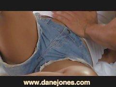 DaneJones Verschwitzter Geschlechtsverkehr mit süssem Paares