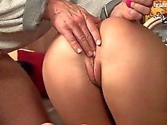 Big boobs pornstar colocação de mordaça