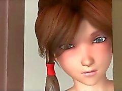 3D Sexig flickvän
