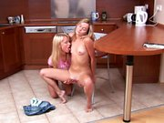 Lovely Lappers from Sapphic Erotica Janet and Karin lesbian