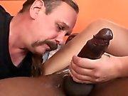 Kum eating Cuckold