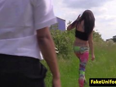 UK amateur pounded by cops in outdoor ffm