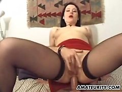 Chesty French fledgling gf gets assfuck with facial