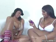 Ebony BBW Taylor Layne And Carmen Hayes