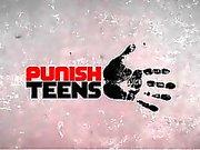PunishTeens Redhead Figliastra Gets Sovrastato