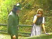 Heidi das Lieben Herstellung von den Männern Jodeln können ab Geilheit