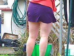 Gattin hängende Waschmaschine - pantieless