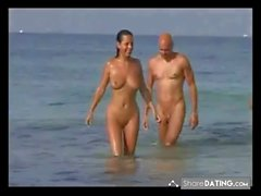 Nude Beach - Hot Foursome full version