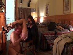 sexiga med transpersoner suger och knullar av Hotell