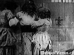 Antique Französisch Porno der 1920er Jahre - Bastille Day