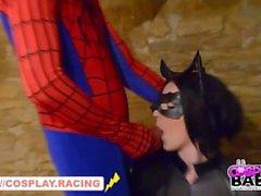 Catwoman Vs Spiderman