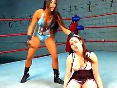 Wrestler vs Cheerleader