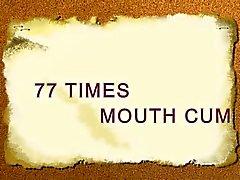 77 volte bocca sborra