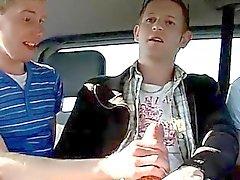 Homosexuell Video- schottischen Dude Jason bekommt eine Überraschung , als wir zu geben Uhr