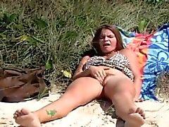 ROKO VIDEO- - Onanera på strand