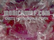 Monicamilf as the dirty Norwegian femdom kinky pegging nun