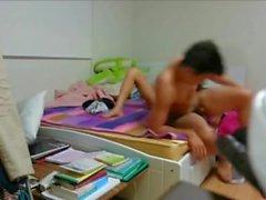 asiansexporno - Young korean couple homemade sex video