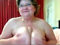 Große Brüste Vollweiber Großmutter Cam BVR