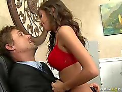 Big titted schoolgirl April o neil in red panties gets fucked by the Dean