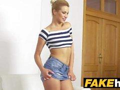 Fake Agent Tall Skinny Glamour malli Hikinen Casting Couch vittu