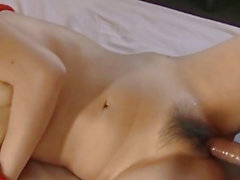 Japanese AV Model sucks cocks and gets them deeply
