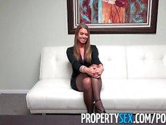 PropertySex - Stunner Interviews für Arbeit mit Top-Immobilienagentur