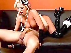 Brooke Belle has her piss flaps pumped by a randy hard ramrod