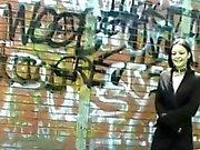Sexy teen goth Pixies public flashing