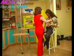 Mom fucked son on the kitchen
