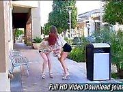 Malena & Elle ftv meninas lésbicas em público